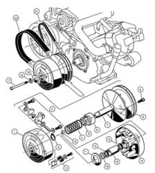 Picture of Assembly, drive clutch